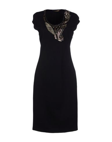 Roberto Cavalli Knee-Length Dresses In Black