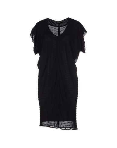 Balenciaga Short Dress In Black