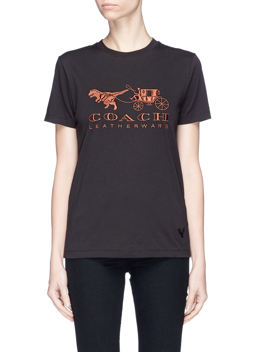 208d4158f5 Rexy and carriage appliqué T-shirt