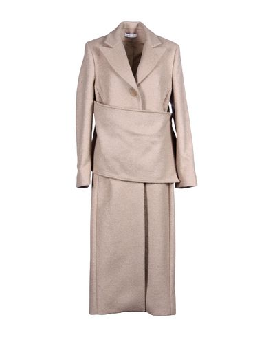 Jw Anderson Coat In Sand