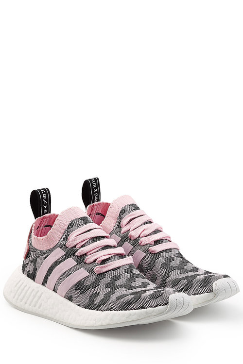 info for 28b43 21a8e Adidas Originals Adidas Women s Nmd R2 Primeknit Casual Sneakers From  Finish Line In Pink
