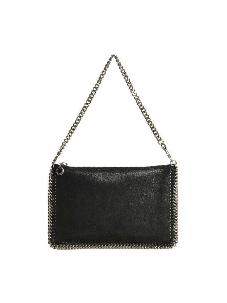 Stella Mccartney Black Falabella Purse Shaggy Deer