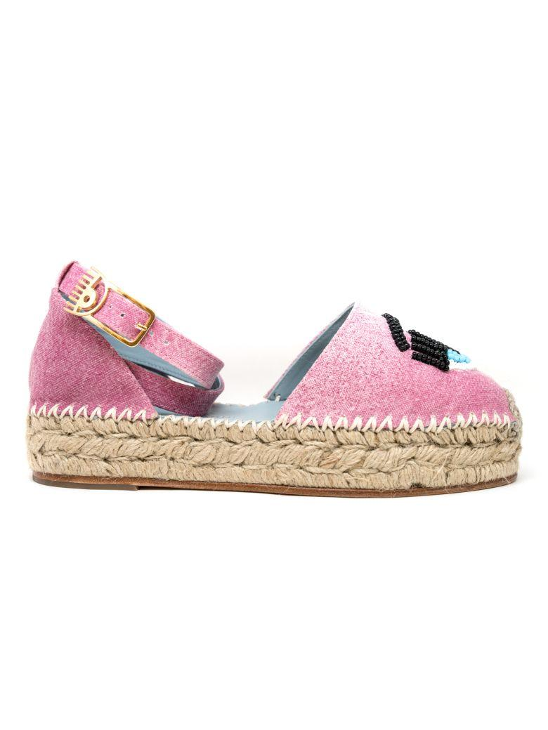 2f0efc5c8c6 Chiara Ferragni 30Mm Flirting Eye Denim Espadrilles