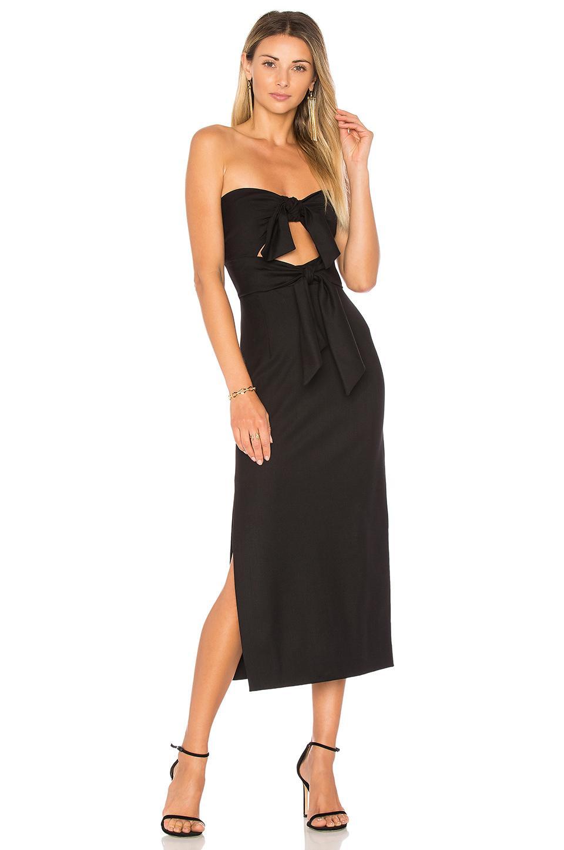 ce4a4e8ba247 Milly Mackenzie Strapless Sweetheart Cocktail Dress In Black | ModeSens