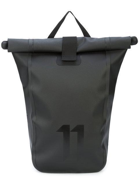 f4eeabe2dfb9 11 By Boris Bidjan Saberi Black Roll-Top Velocity Backpack