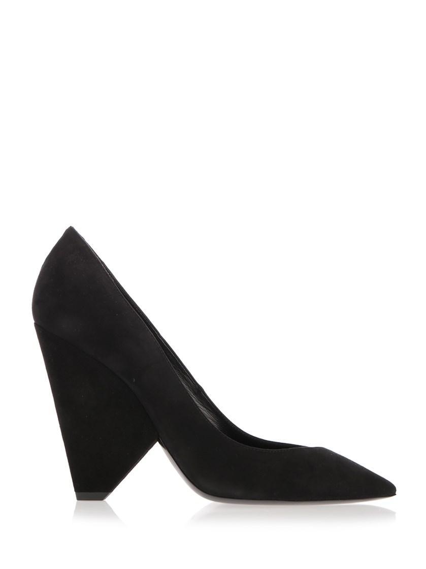 be64e263ab69 Saint Laurent Niki 85 Pump Shoe In Black Suede