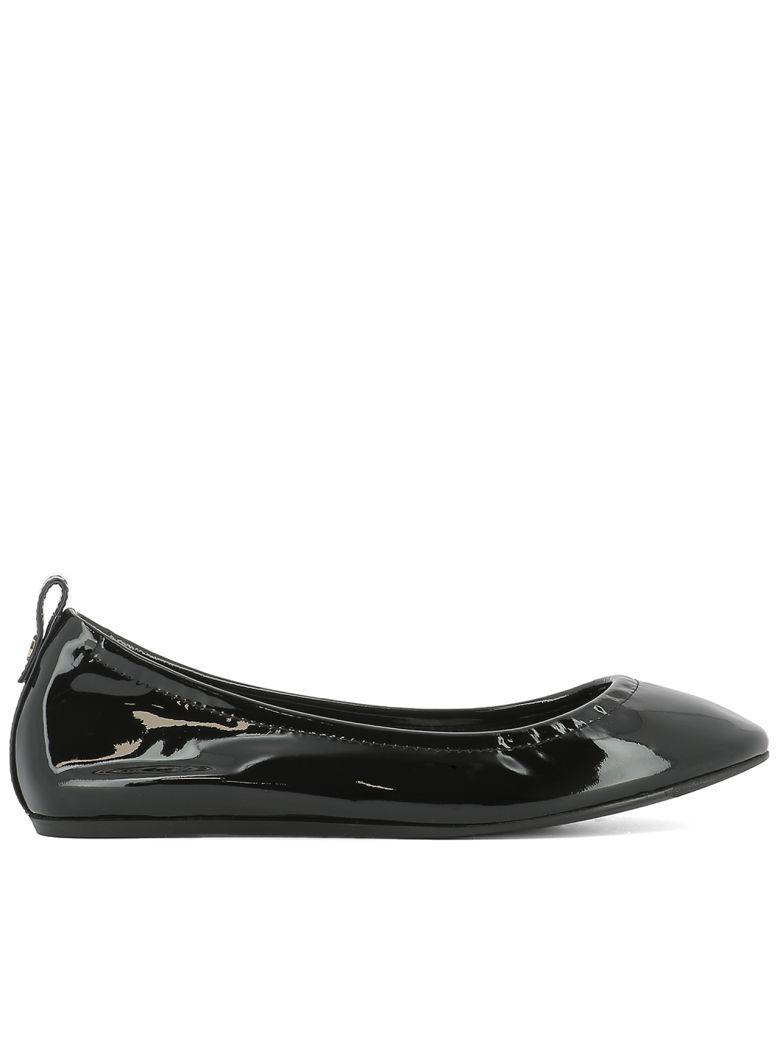 Lanvin Black Leather Ballerinas