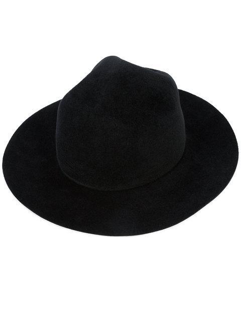 Yohji Yamamoto Crown Hat In White
