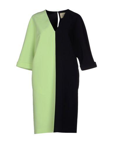 Fausto Puglisi Short Dresses In Acid Green