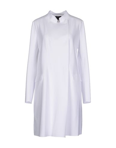 Emporio Armani Overcoats In White