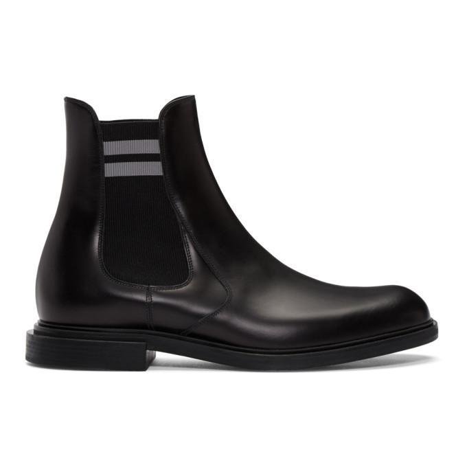 Fendi Classic Chelsea Boots In F07ow Black