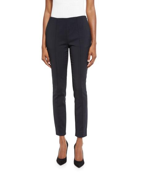 Jason Wu Cropped Side-zip Pants, Gray