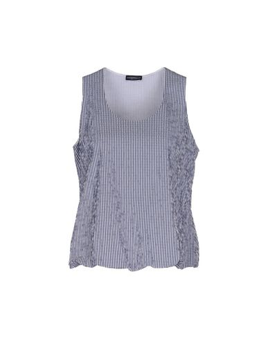 Emporio Armani Tank Top In Dark Blue