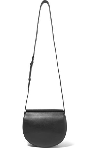 67686511b751 Givenchy Infinity Mini Chain-Trimmed Leather Shoulder Bag In Black ...