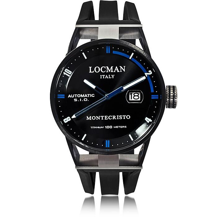 Locman Montecristo Black Pvd Stainless Steel & Titanium Automatic Men's Watch