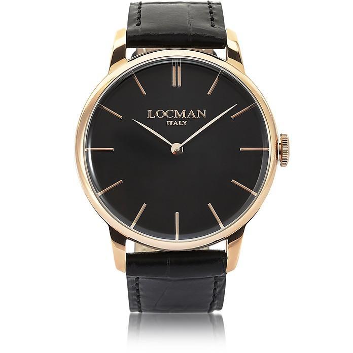Locman 1960 Rose Gold Pvd Stainless Steel Men's Watch