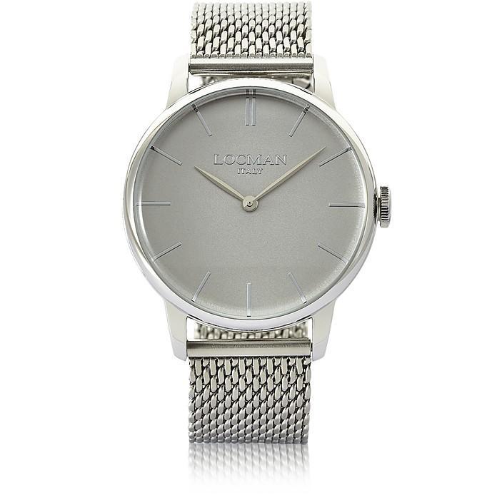 Locman 1960 Stainless Steel Men's Watch