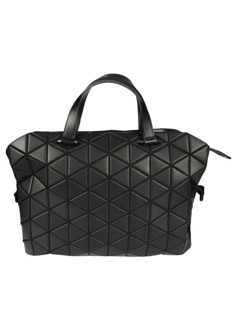 Bao Bao Issey Miyake Tonneau Small Matte Boston Bag In Matt Black ... d9d74df05f174