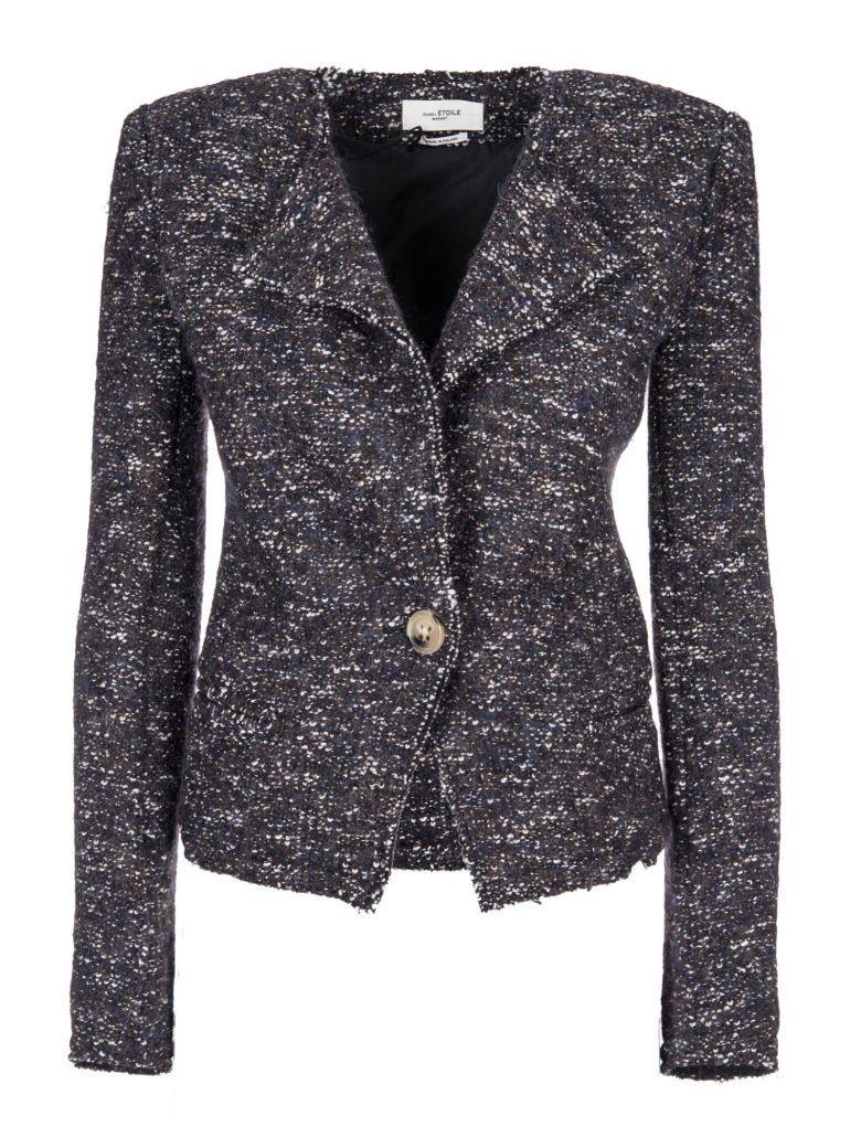Etoile Isabel Marant Tweed Blazer In Midnight