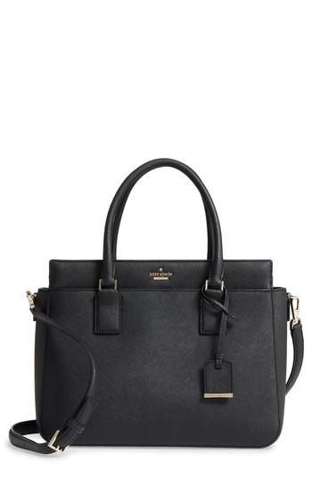 Kate Spade Cameron Street - Sally Leather Satchel - Black