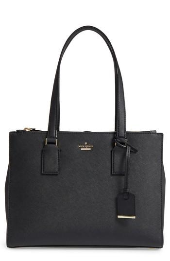 Kate Spade Cameron Street - Small Jensen Leather Tote - Black