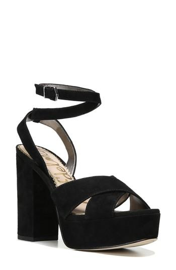 9d29a3c22c43 Sam Edelman Mara Platform High Heel Sandals In Black