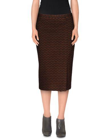 Missoni Knee Length Skirts In Brown