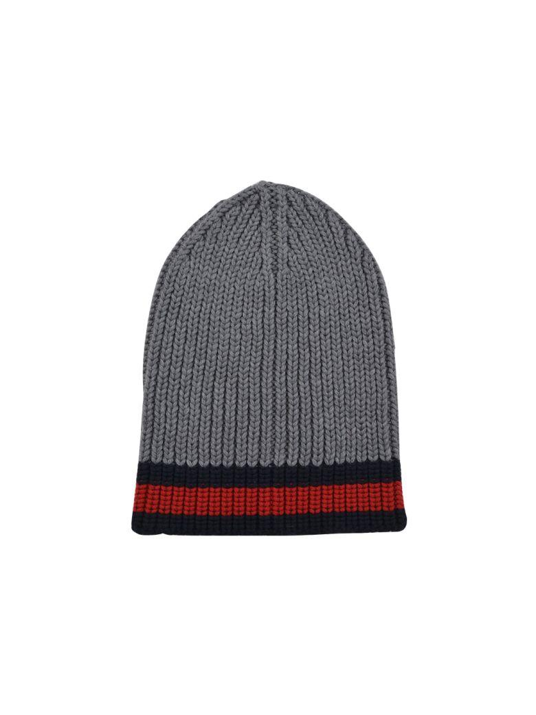 8c8b97e379e Gucci Web Wool Cable Knit Beanie Hat