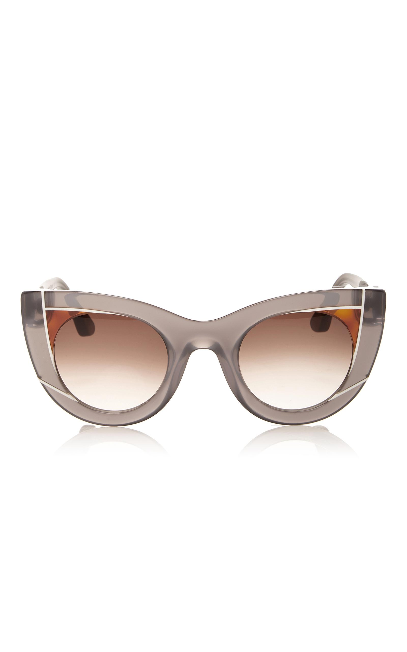 92bb0a3561e Thierry Lasry Wavvvy Sunglasses In Grey Brown Gradient