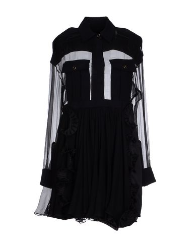 Emanuel Ungaro Shirt Dress In Black