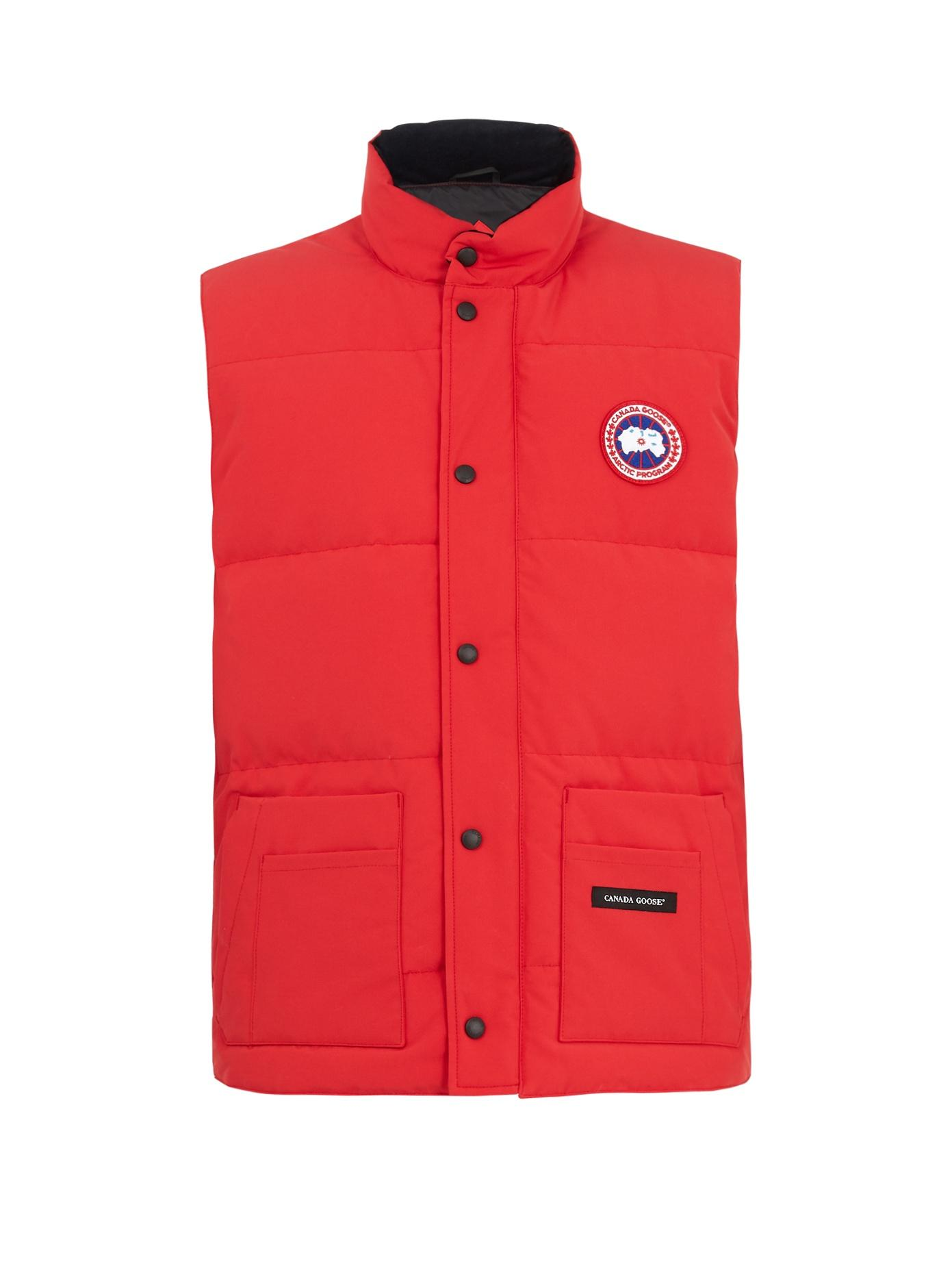 ea8b8329e743d Canada Goose  Freestyle  Water Resistant Regular Fit Down Vest In ...