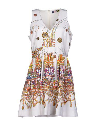 Msgm Knee-length Dresses In White