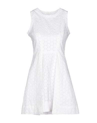 Victoria Beckham Short Dresses In White
