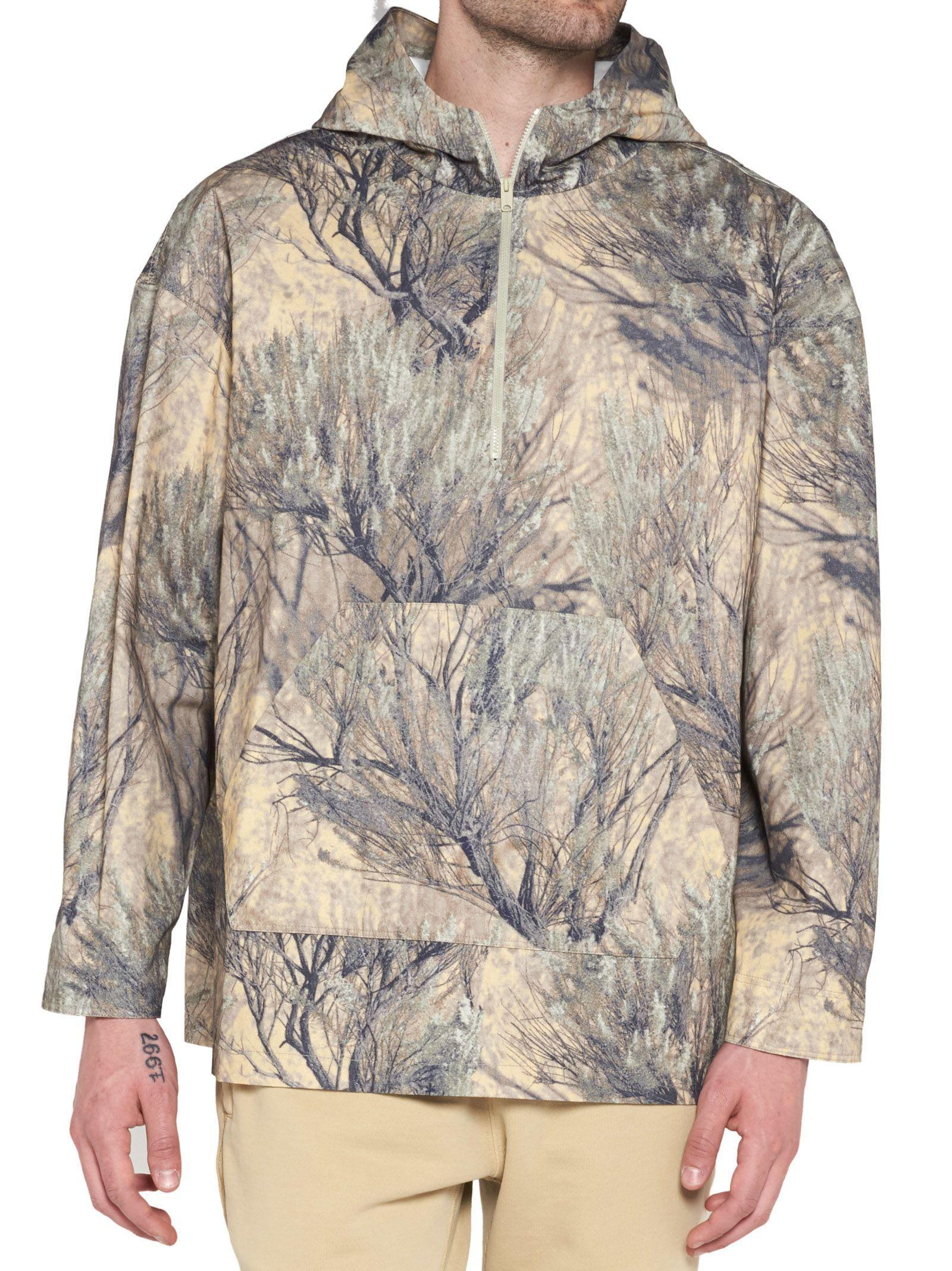 c578202c70c Yeezy Season 4 Forest-Printed Cotton Jacket In Cpn27 | ModeSens