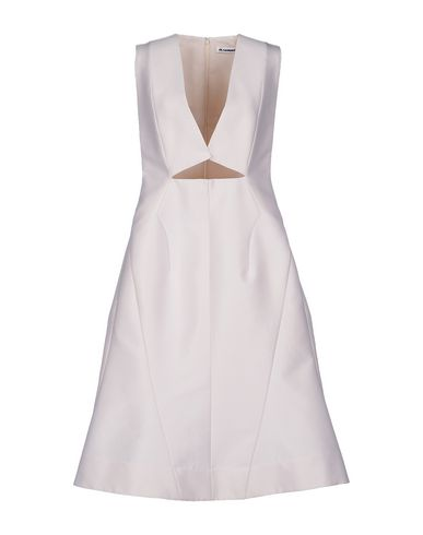 Jil Sander Knee-length Dress In Ivory