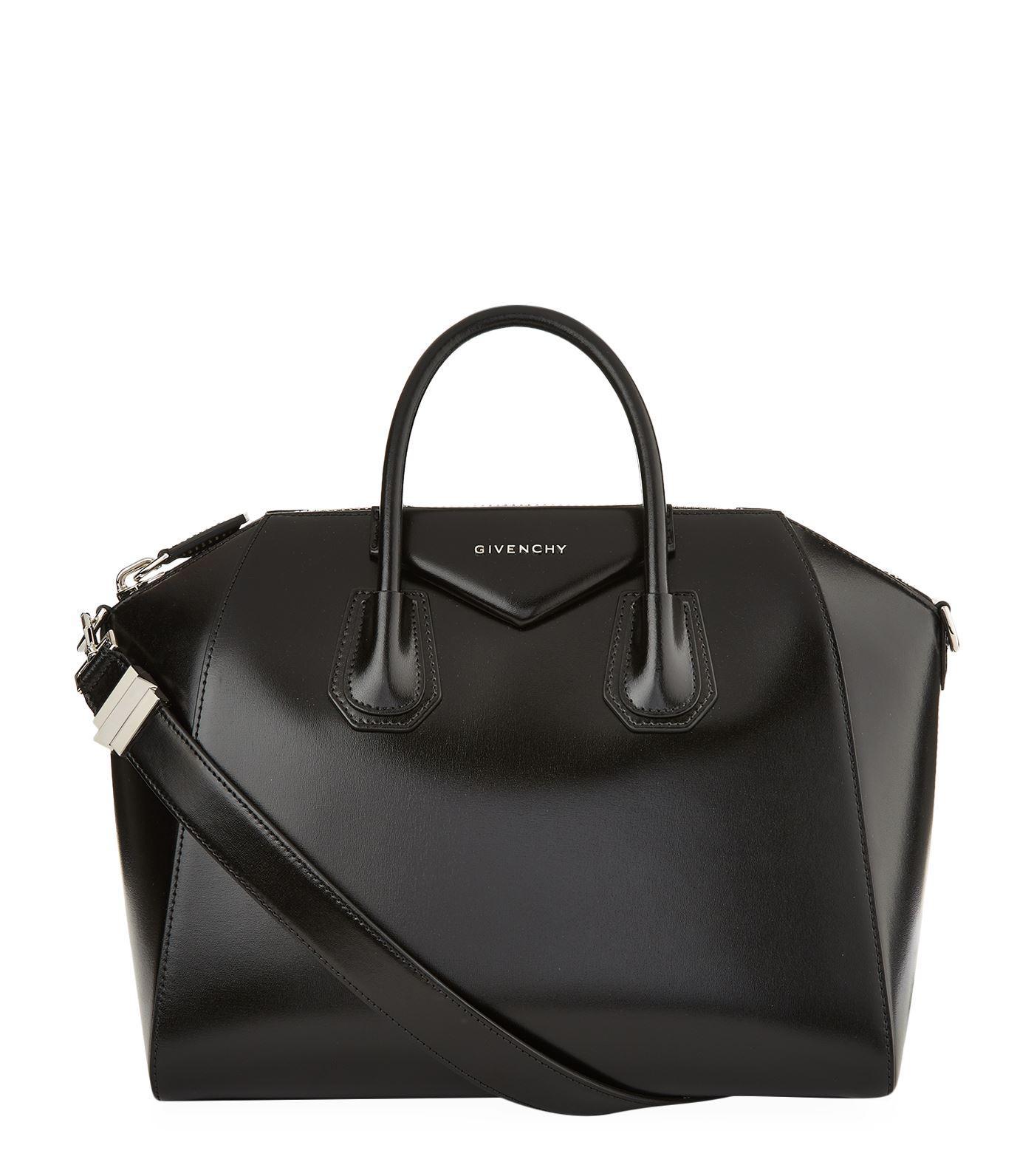 5309eb329396 Givenchy Antigona Small Leather Tote In Black