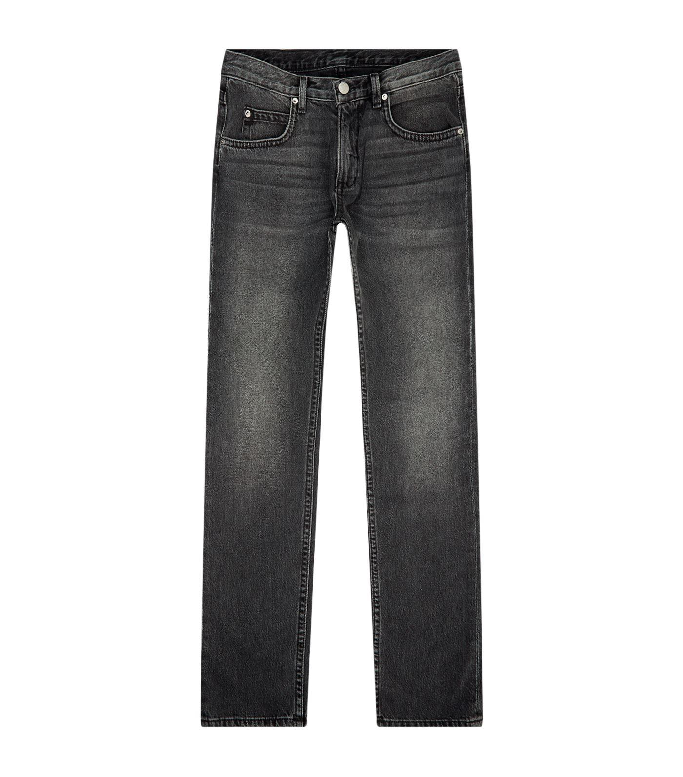 Helmut Lang Mr.87 Coal Wash Slim-fit Jeans In Black