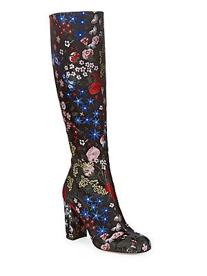 Valentino Garavani 'camu Garden' Tall Boot (women) In Multi