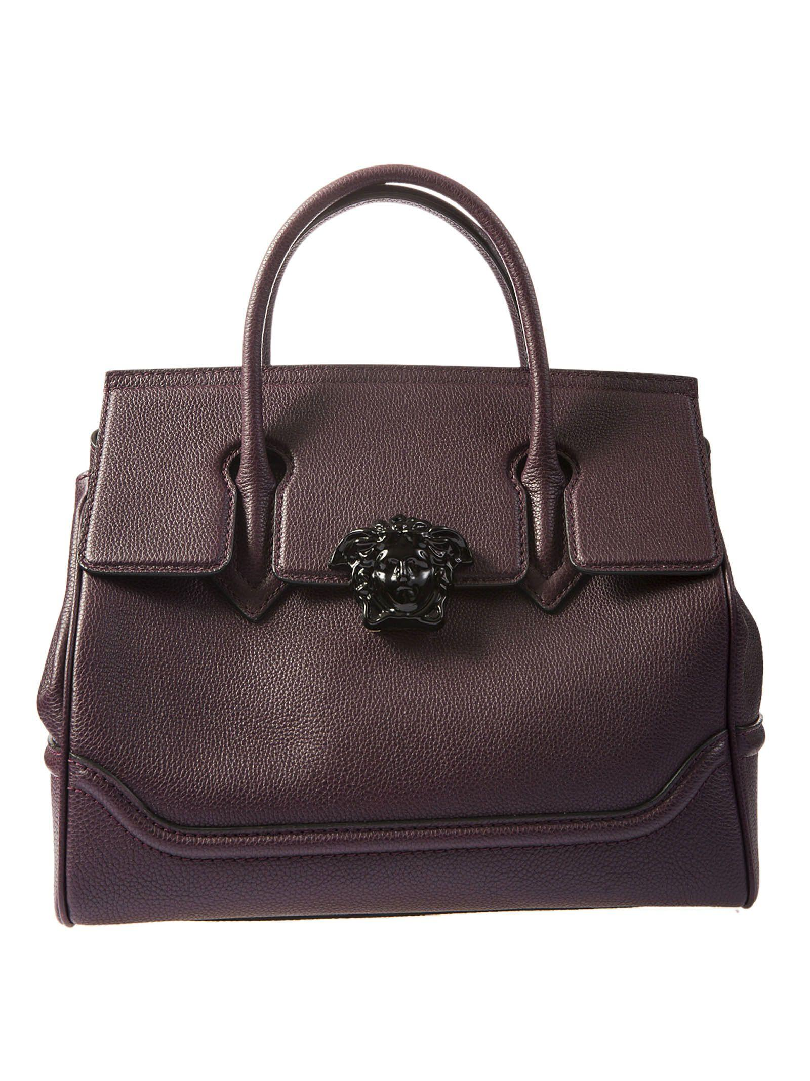 7af7644db762 Versace Coulisse Palazzo Empire Bag In Burgundy