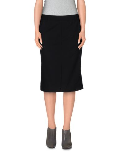 Tory Burch Knee Length Skirts In Black