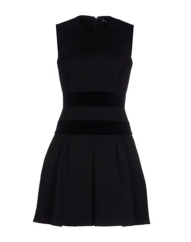 Alexander Mcqueen Short Dress In Black