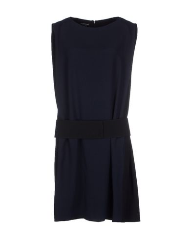 Emporio Armani Short Dresses In Dark Blue