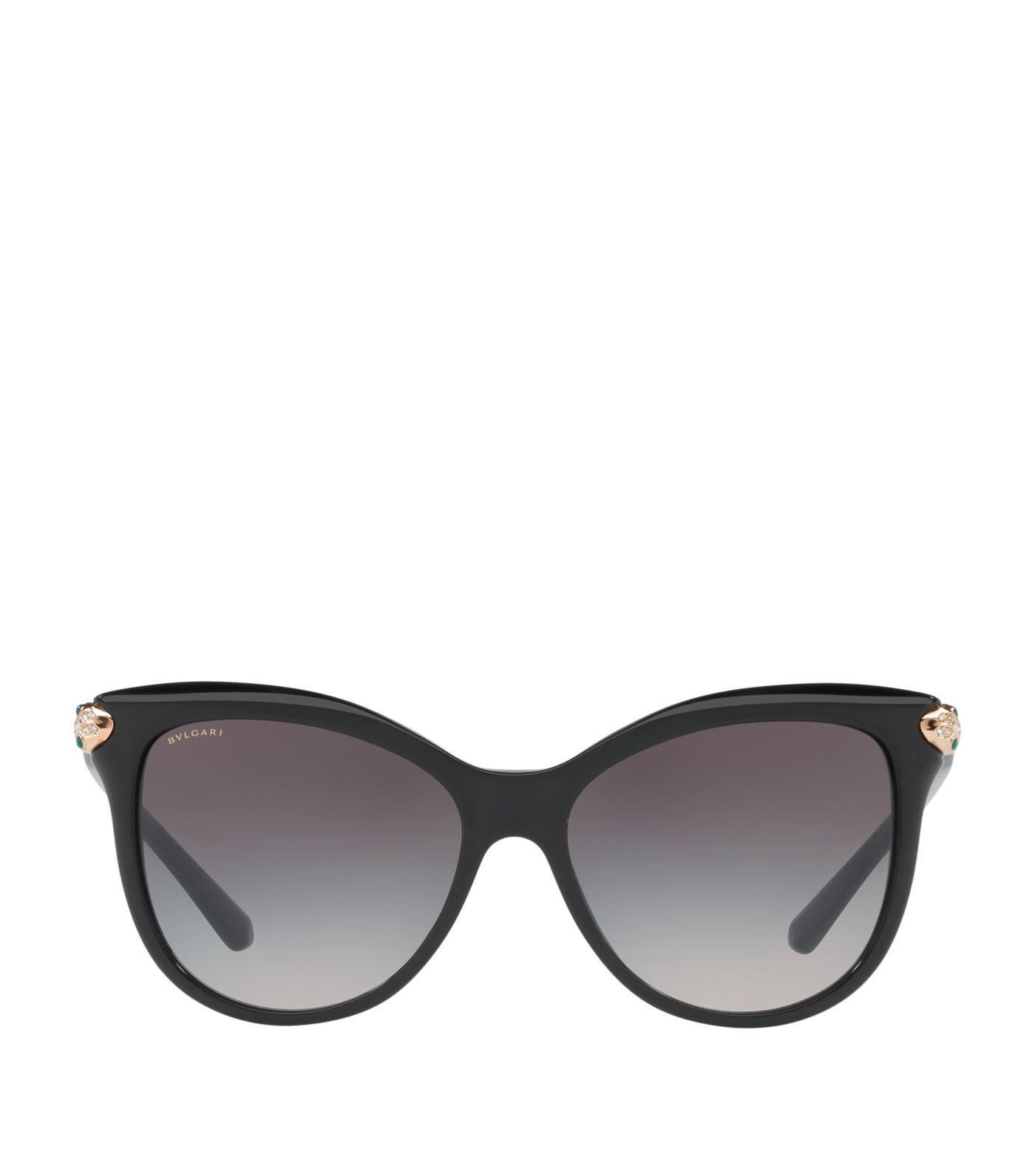 c5d6226f91682 Bvlgari Serpenti Gradient Square Sunglasses