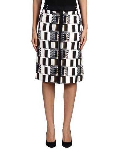 Kenzo Knee Length Skirt In Black