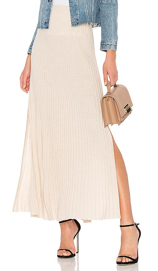 ae815cf643 Elizabeth And James Joelle Rib-Knit Column Maxi Skirt In Beige ...