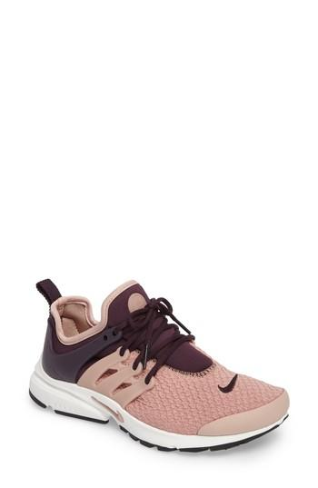 fb83541d3eb Nike Women s Air Presto Lace Up Sneakers In Port Wine  Pink  White.  Nordstrom
