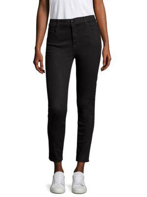 Gucci Alana High-rise Crop Skinny Jeans In Vanity
