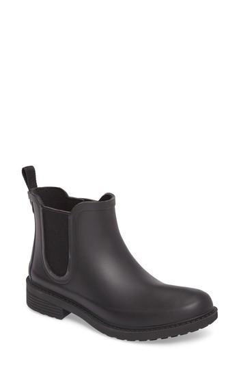 Madewell The Chelsea Rain Boots In True Black Modesens