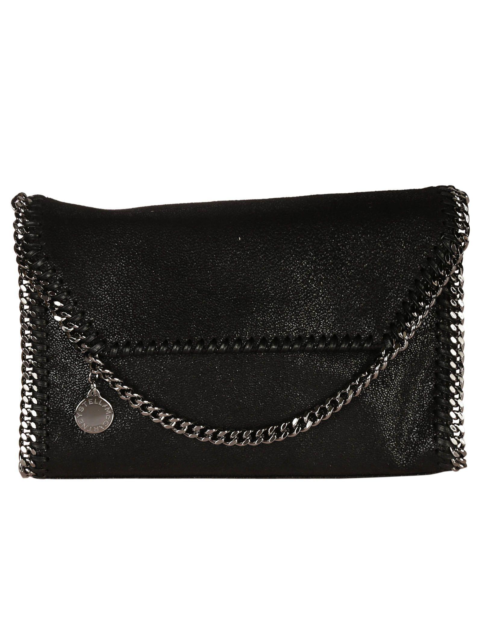 24fc0aeb56f3 Stella Mccartney  Mini Falabella - Shaggy Deer  Faux Leather Crossbody Bag  - Black