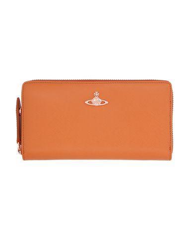 Vivienne Westwood Wallet In Orange
